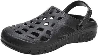 KIKOY Men's Flip-Flops Outdoor Soft Bottom Shoes Wild Comfortable Beach Slippers