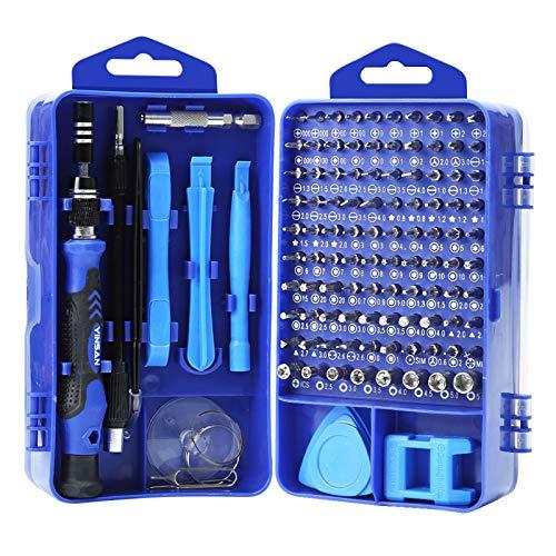 YINSAN 120 en 1 Tournevis Precision Kit Tools, Portable Kit Tournevis de Précision Magnétique...