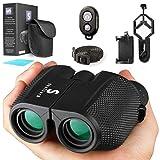 Best Concert Binoculars - Compact Lightweight Binoculars with Camera Kit12x25 Small Binoculars Review