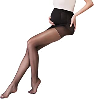 9869777345b39 Qingsun Women's Pregnant Maternity Sheer Pantyhose Stockings Legging Tights ()