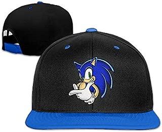 Sonic The Hedgehog Cartoon Portraits Children Hip Hop Baseball Hats