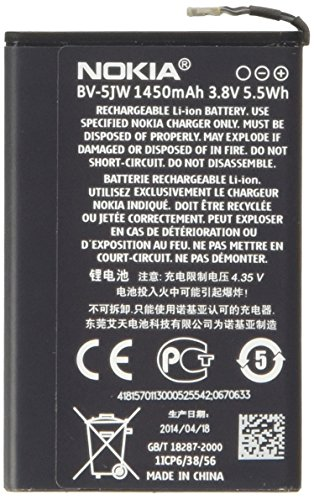 Nokia Lumia 800, BV-5JW N9 Batería