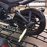 Koisy Asegure la correa de transporte de la motocicleta Rueda trasera de amarre Banda de correas de poliéster resistente