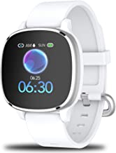 "Smart Watch, Fitness Tracker with Activity Tracker with 1.3"" Touch Screen, IP68 Waterproof Pedometer Smartwatch with Sleep..."