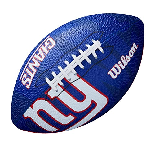 Wilson NFL Junior Team Logo Football (New York Giants)