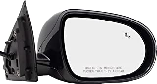 BROCK Side View Mirror for 2016-2018 Kia Sorento Passenger Replacement Heated Signal Memory Power Folding Blind Spot Detection fits 87620C6010 87620 C6010