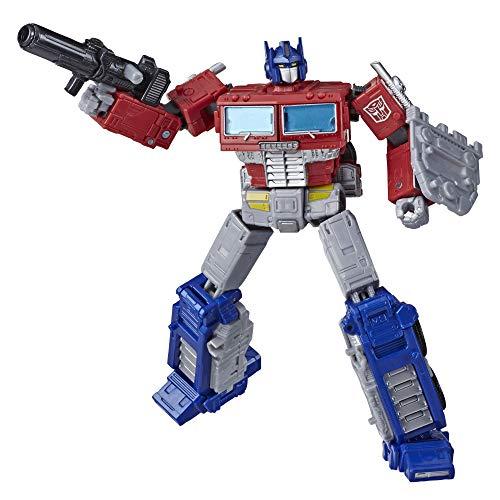 Transformers Toys Generations War for Cybertron: Earthrise Leader WFC-E11 Optimus Prime Figura de acción – Niños Mayores de 8 años, 6.9 Pulgadas