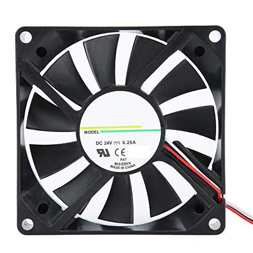 Ventilador de refrigeración, ventilador del disipador de calor de refrigeración Disipación de calor rápida y silenciosa, ventilador de la carcasa de la PC, para las carcasas de su computadora