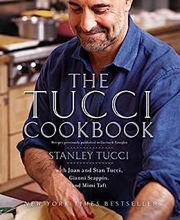 The Tucci Cookbook by [Stanley Tucci, Francesco Tonelli]