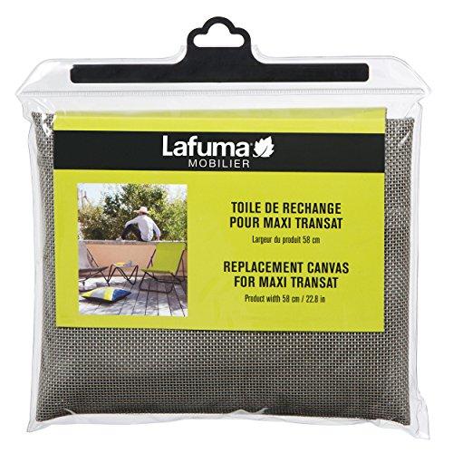 Lafuma Ersatz-Batyline-Bezug für Liegestuhl Maxi-Transat, Grau, LFM2655-8556