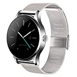 Kuangbin Smart Watch,K88H Smart Watch Fitness Tracker Smart Watches for Women Men(2Straps) with Heart Rate Monitor Bluetooth Activity Tracker Compatible with Android iOS
