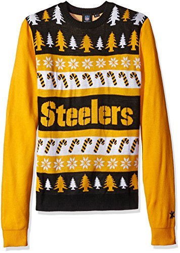 FOCO NFL Wordmark Style Ugly Sweater, Herren, Wordmark, XX-Large