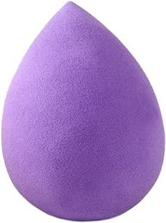 HONRI メイクアップ スポンジパフ 化粧 メイク パフ プロ 用 スポンジ ファンデーション (紫 涙)