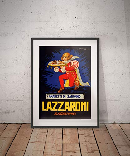 Rac76yd amaretto saronno poster vintage vintage poster drank dranken aperitieven alcholische reclame muur decor