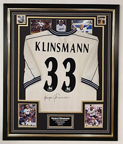 www.signedmemorabiliashop.co.uk Autogramm-Trikot Jurgen Klinsmann von Tottenham
