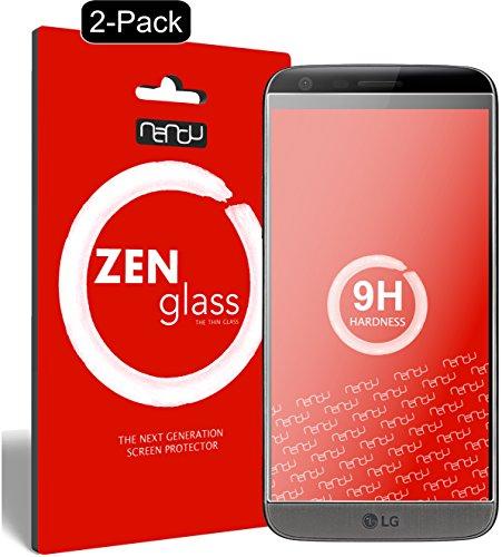 ZenGlass [2 Stück Flexible Glas-Folie kompatibel mit LG G5 Panzerfolie I Display-Schutzfolie 9H I (Kleiner Als Das Gewölbte Display)
