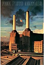 Buyartforless Pink Floyd Animals 36x24 Music Art Print Poster Wall Decor British Progressive Rock Band Pink Floyd 14th Album