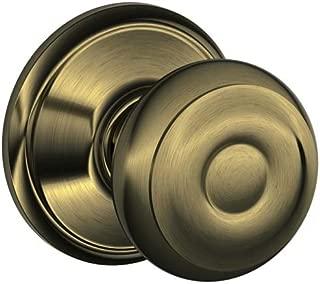 Best antique brass door knobs schlage Reviews