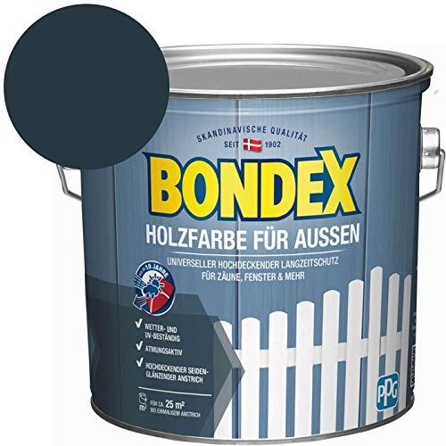 Bondex Holzfarbe für Aussen Anthrazit 2,5 l - 435471