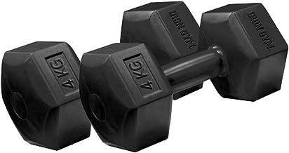 دمبل للياقة البدنية وقاعات الرياضة المنزلية (4 كجم × عدد 2)