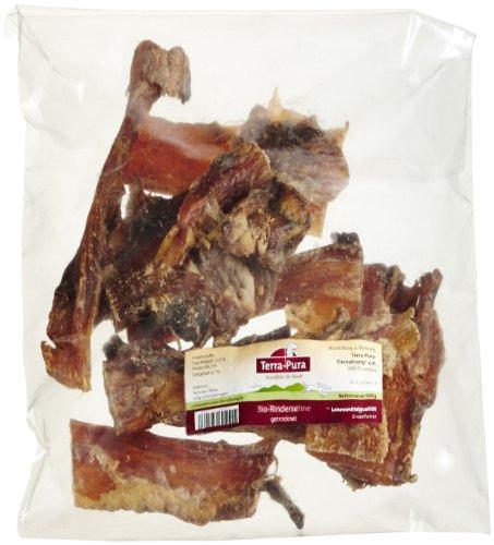 Terra Pura Bio Perros Snack Vacas tendones, 1er Pack (1x 500g)