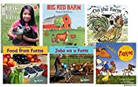 Becker's School Supplies (BSS611801) Theme Book Set: Farms (Set of 6 Books) [並行輸入品]