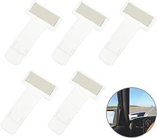 Windschutzscheibe FGF-EU Transparent Selbstklebende Parkscheininhabers Pack 8 Ticket und Hinweis Sticky Back Protect Cover f/ür Auto Abzeichen