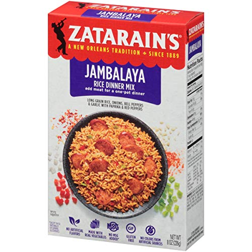 Zatarain's New Orleans Style Mixes, Jambalaya, 8 oz