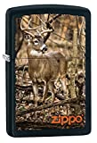 Zippo Personalized Message Engraved on Backside Deer Windproof Lighter