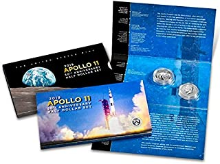 2019 S Commemorative Apollo 11 50th Anniversary Half Dollar Set .50 Proof US Mint