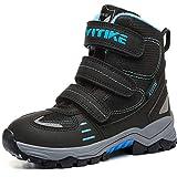 Zapatos de Senderismo Botas de Senderismo Botas de Nieve(4 Negro,39 EU)