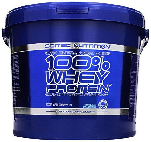 Scitec Nutrition Protein Whey Protein, Vanille, 5000g