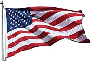 eder products American Flags Outdoor - US Made 100% - All Weather Durable Heavy Duty Open Weave - Polymax Vertical Stitching & Reinforced Corners - 5 x 8 ft