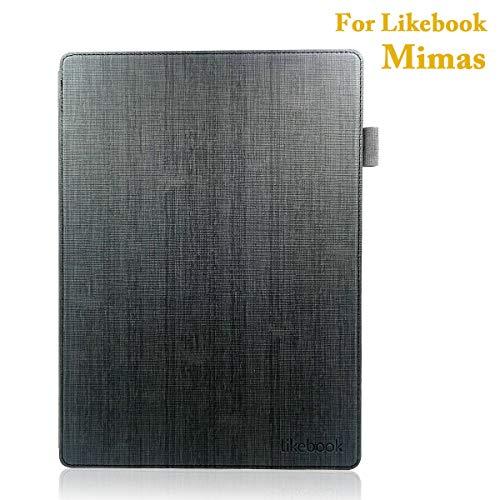 Cubierta de Cuero para 10.3 Pulgadas Likebook Mimas, función de Despertador automático/Reposo