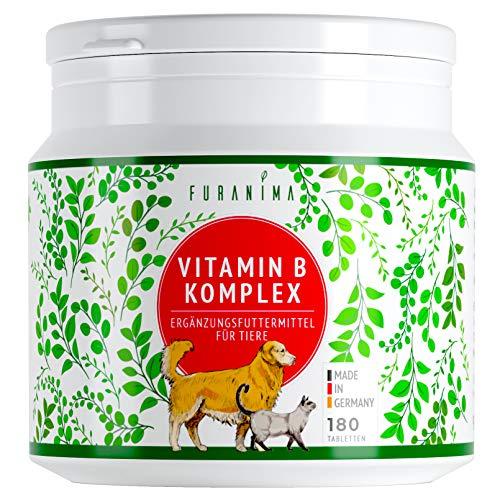 Furanima Vitamin B Komplex für Hunde - 180 Tabletten (bis zu 6 Monaten) - Vitamine für Hunde und Katzen - Geeignet für alle Rassen - Geprüfte Qualität Made in Germany