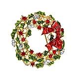 U/K PULABO - Broche para mujer, corpiño, boda, novia, pin, bufanda, clip para bolso, corona creativa y útil, duradero