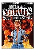 Chuck Norris – Calendario da parete 2021 // divertente/eccentrico/Natale/compleanno/idea regalo/novità/umorismo/Babbo Natale segreto/agenda annuale/regalo ufficio