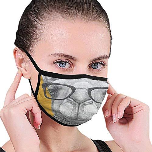 Maske Kamele In Sonnenbrillen Gesichtsmaskenabdeckung Wiederverwendbare Winddichte Halbgesichtsmund Warme Masken Für Ski Fahrrad Fahrrad Motorrad