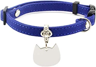 Charm and Bell Breakaway Pugs2Persians Glow in The Dark Skulls on Black Safety