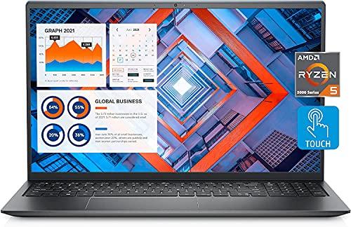 2021 Newest Dell Inspiron 15 5000 Business Laptop, 15.6' FHD LED Touchscreen, AMD Ryzen 5 5500U,...