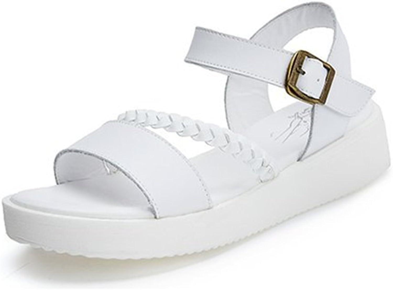T-JULY Ladies Fashion Espadrilles for Women Wedge Platform Buckle Ankle Strap Sandals Comfy Slip On Dressy Walking Sandals