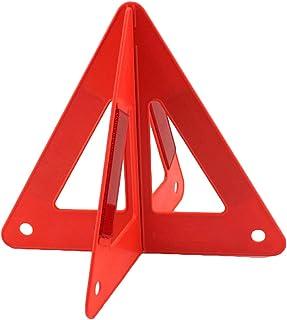 Auto Warndreieck, Faltbare Reflektierende Dreiecksschilder, Sicherheitswarnkegel, Reflektierendes Notfalldreieckreflektor am Straßenrand, für Emegency Traffic Kit