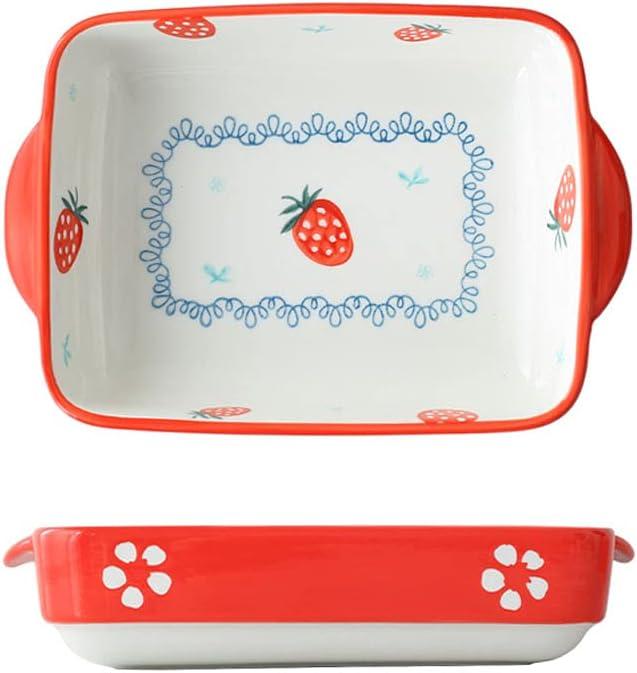 DSFHKUYB 2 Pcs Casserole Dish Beauty products Square La Oven Stoneware shipfree to Table