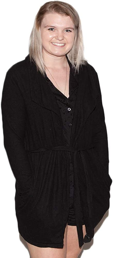 Z SUPPLY Women's Marled Wrap Front Cardigan