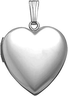 heart locket necklace for mom