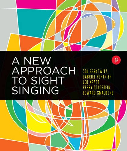 A New Approach to Sight Singing (Sixth Edition)