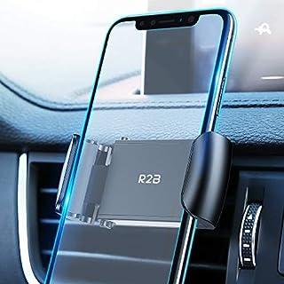 R2B Handy Autohalterung Lüftung   Handyhalterung Auto   Smartphone Halterung   Auto Handyhalterung Lüftung   Handyhalter Auto   Halterung handy auto   KFZ Handyhalterung   Universal   Schwarz