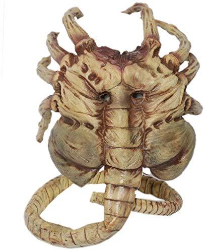 Halloween Alien Maske Latex Hunter Cosplay Kostüm Zubehör Film Kleidung Replik Props für Erwachsene Herren Merchandise