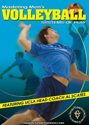 Mastering Mens Volleyball: Systems of Play DVD featuring Coach Al Scates