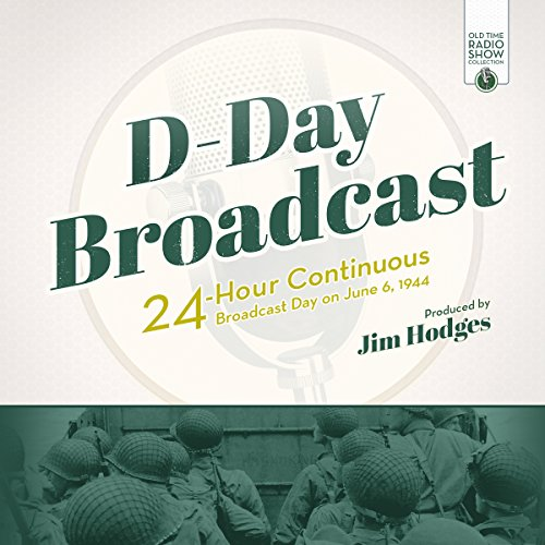 D-Day Broadcast audiobook cover art